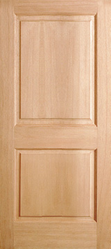 Interior Mahogany 2 panel door